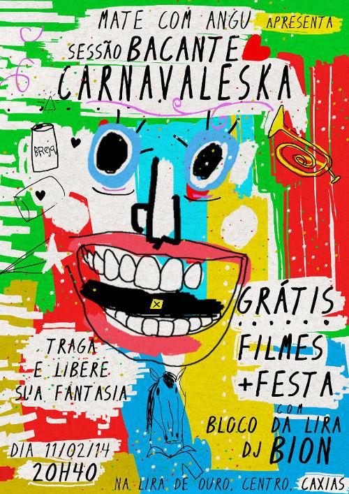 Sessão Bacante Carnavaleska