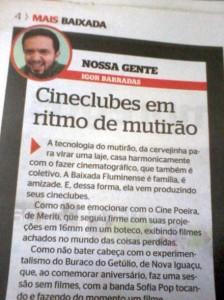 Read more about the article Cineclubes da Baixada, Uni-vos!