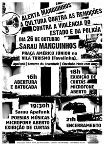 Read more about the article Mate Com Angu no Sarau Manguinhos! A Cultura contra as remoções