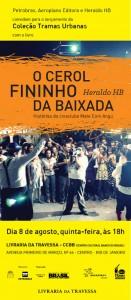 Read more about the article Lançamento do livro O Cerol Fininho da Baixada – Histórias do cineclube Mate Com Angu