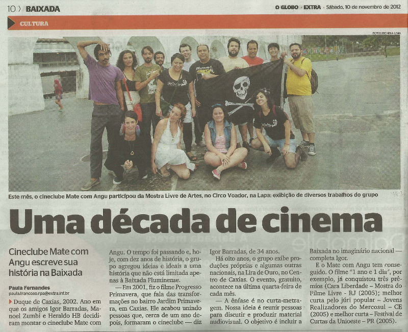 Read more about the article Mate no MoLA – Matéria do jornal Extra