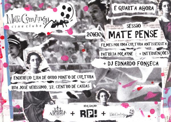 You are currently viewing Sessão Mate Pense! Filmes por cultura antissexista