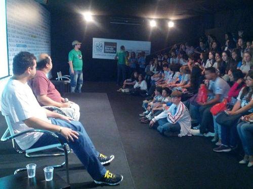 Read more about the article Dois momentos de um sabadão agitado :)