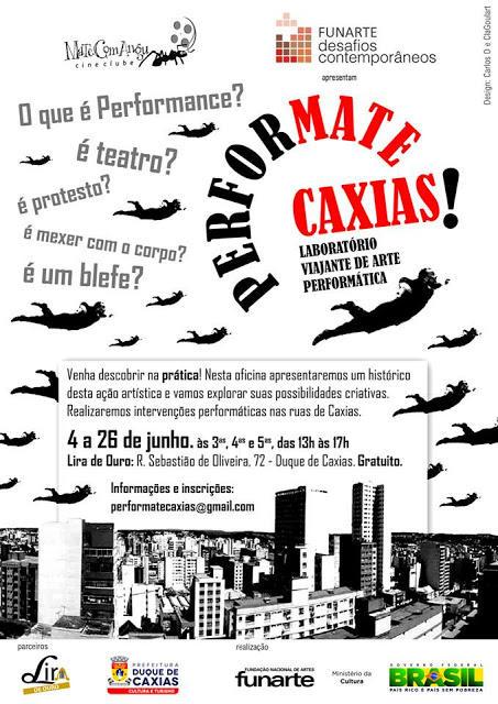 Performate Caxias - cineclube Mate Com Angu