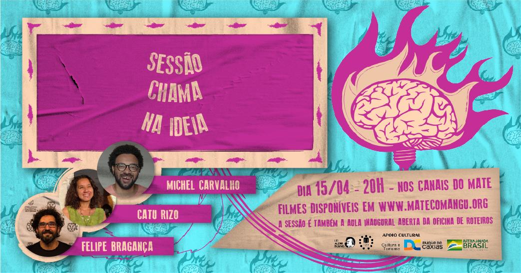 Read more about the article Debate da  Sessão Chama na Ideia [15/04/21]